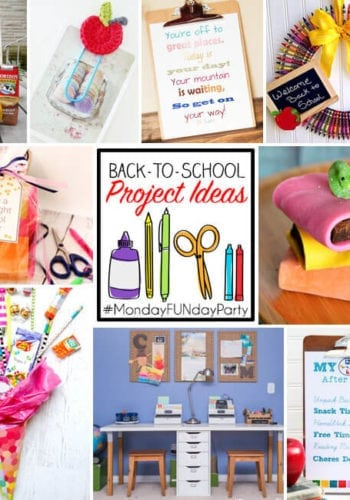 All different kinds of back to school project ideas for you to make!
