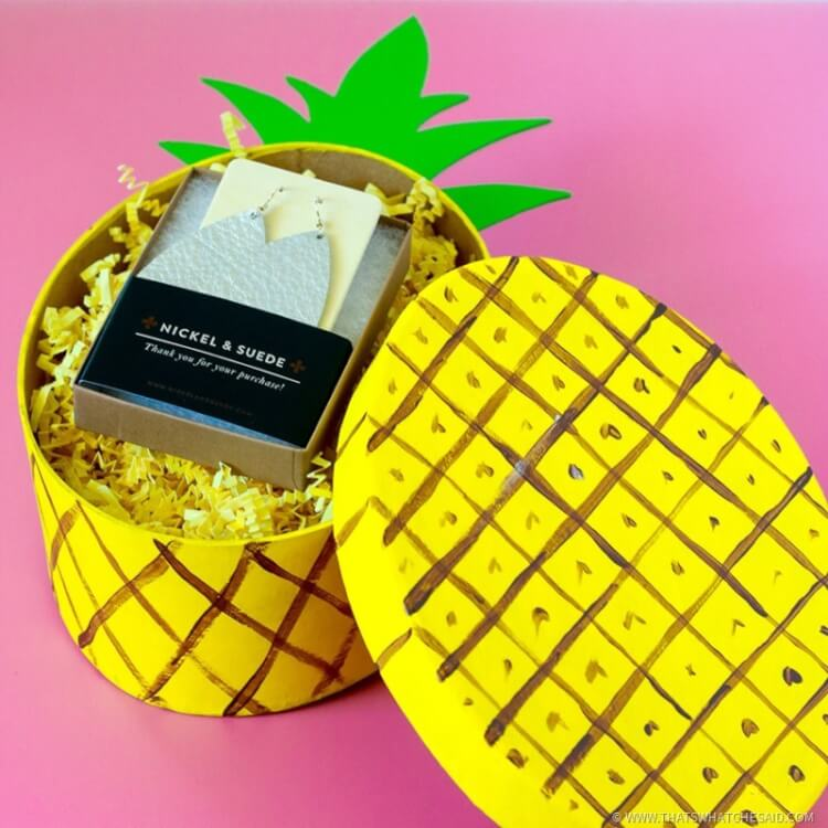 Enjoy a Pineapple Gift Box