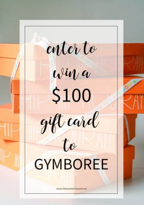 Enter to Win a Gift Card from Gymboree