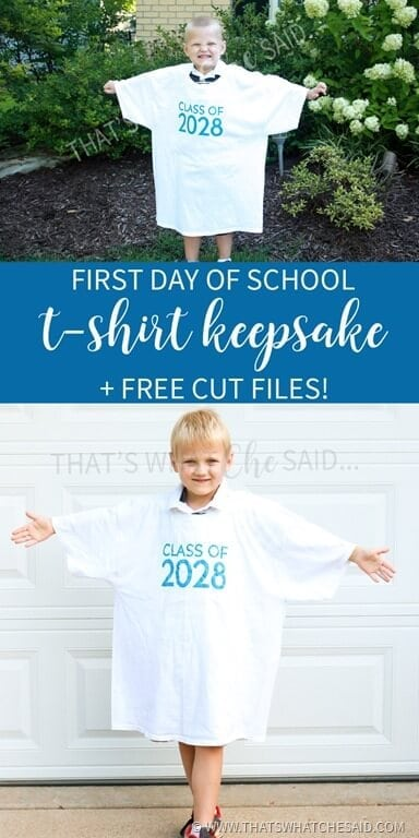 First Day of School Keepsakes!