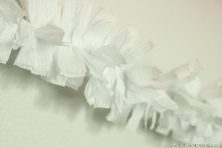 Halloween Garland - Fluffed Fringe Vairiety