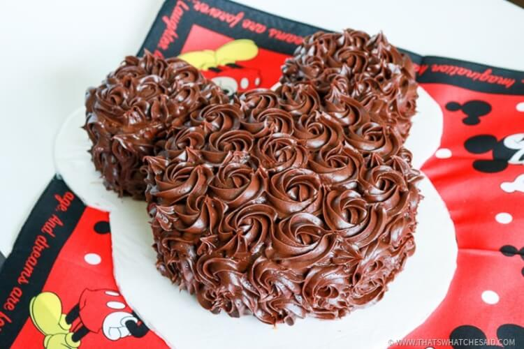 Mickey Mouse Cake-13