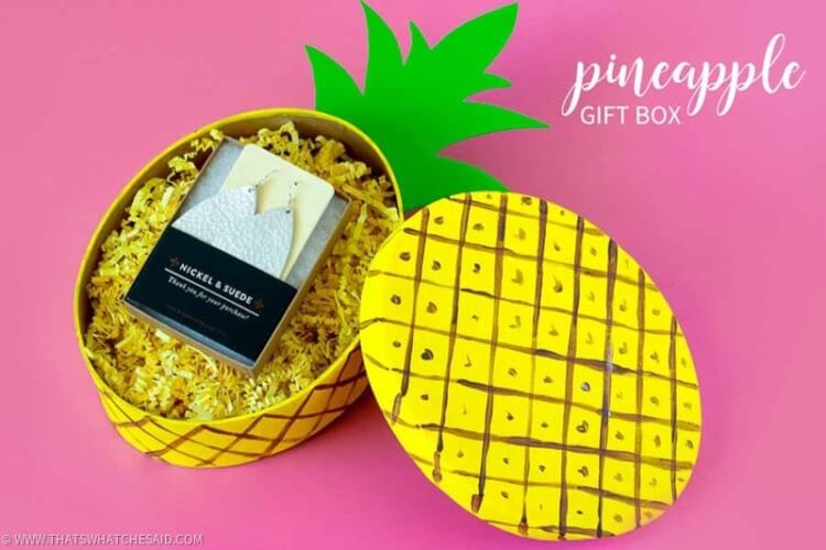 Pineapple Gift Box