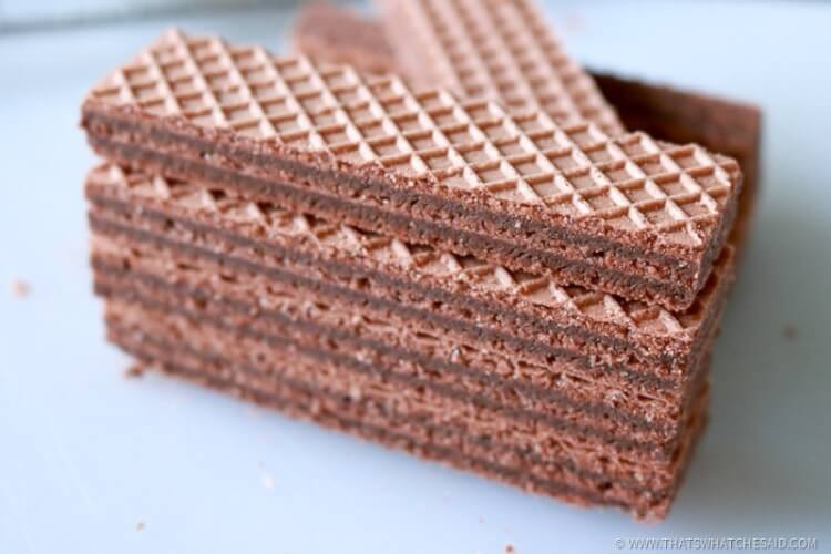 Chocolate Wafer Cookies - Fun with Food