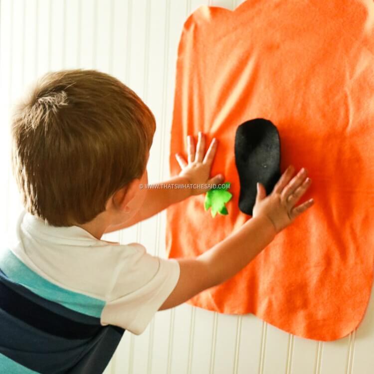 Felt Jack-o-Lantern Kids Activity-8