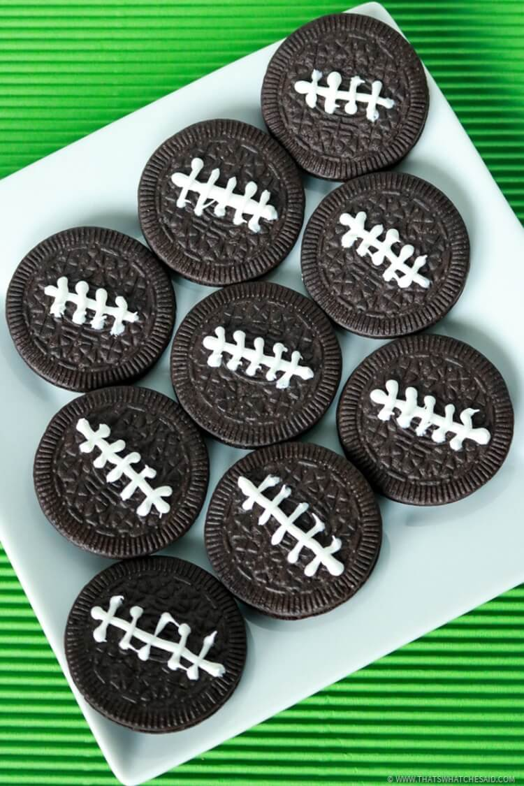 Oreo Football Treats