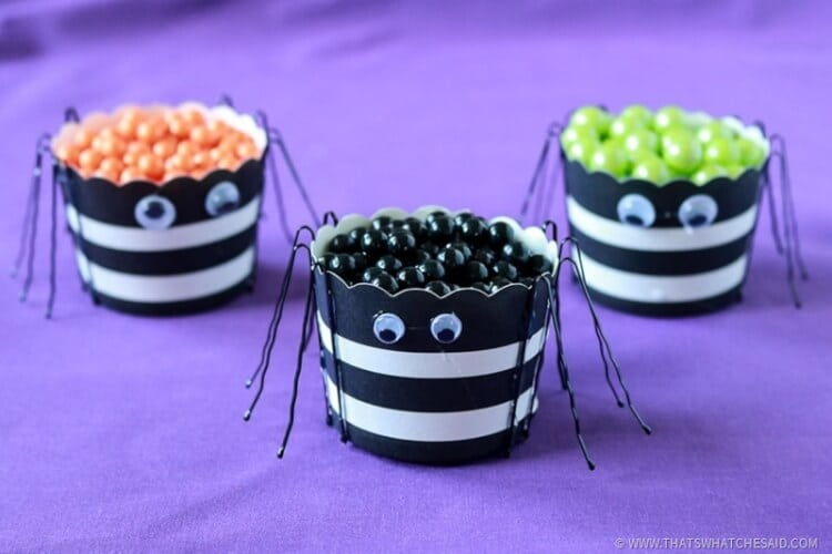 Quick Craft - Spider Treat Cups