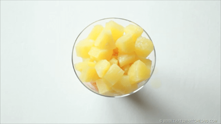 Add Pineapple Fresh or Canned