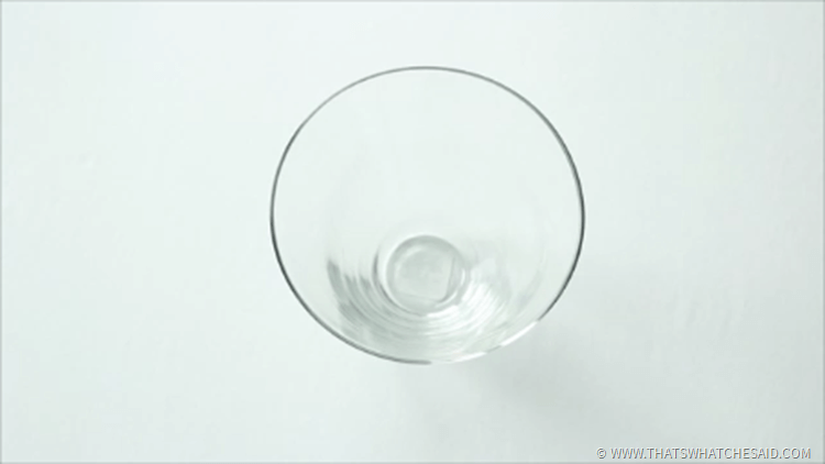 Empty Clear Glass