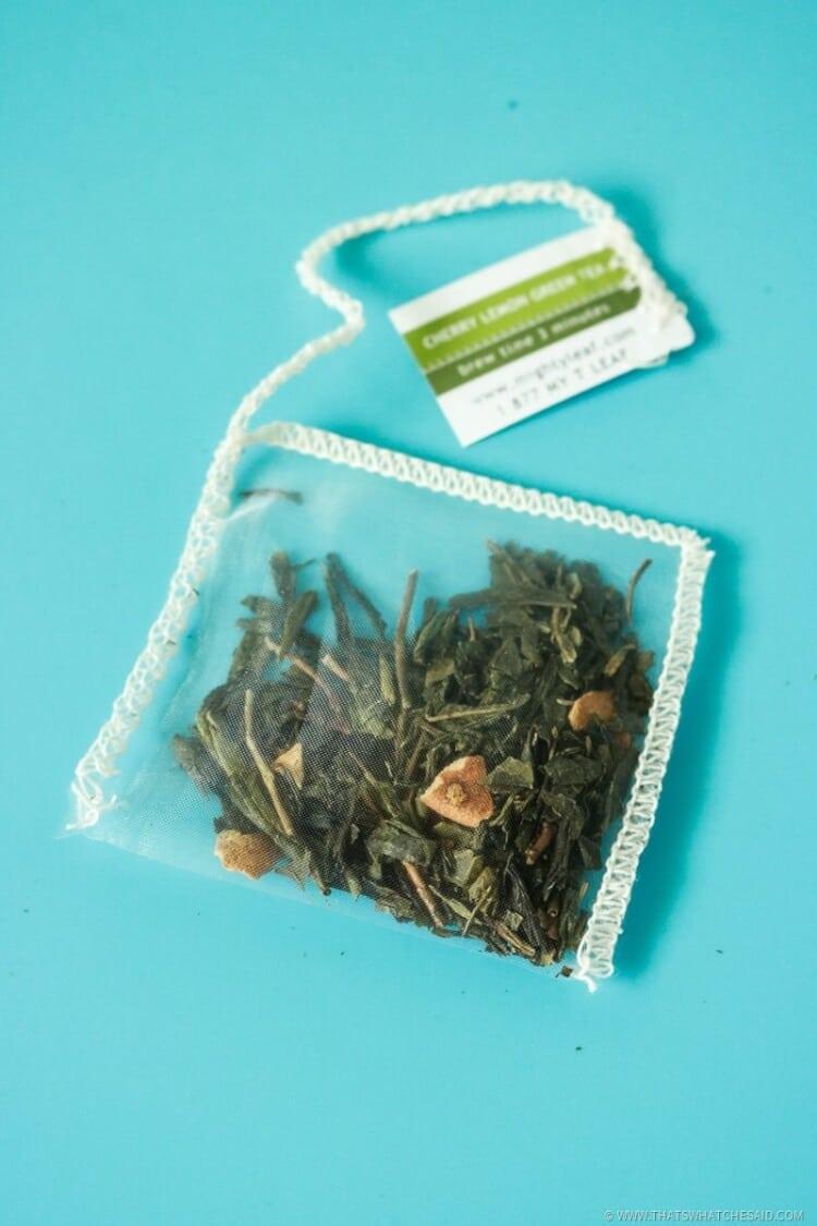 Mighty Leave Lemon Cherry Green Tea