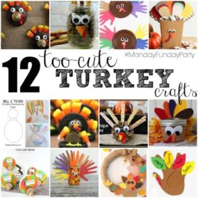Easy Turkey Projects | Monday Funday