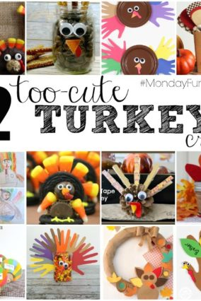Easy Turkey Projects   Monday Funday