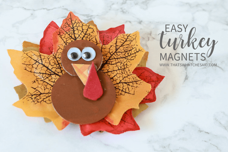 Turkey magnets easy thanksgiving craft that 39 s what for What does punch out mean in construction