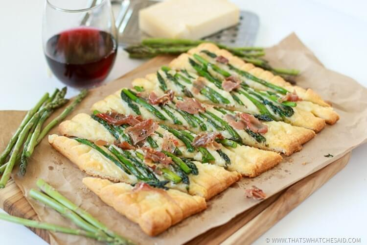 Easy Asparagus Tart Recipe