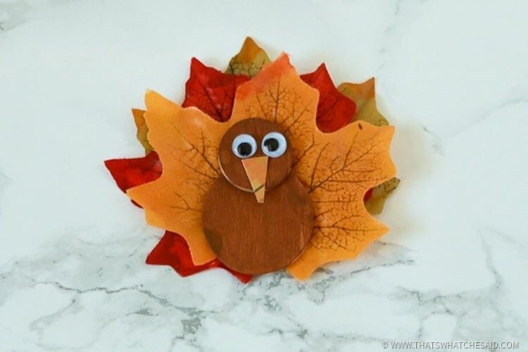 Turkey Magnets Kids Craft Idea
