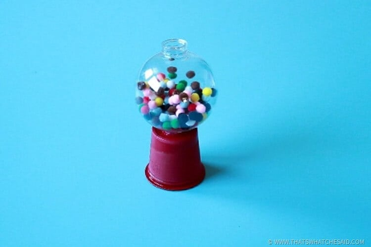 Easy DIY Gumball Machine Ornament