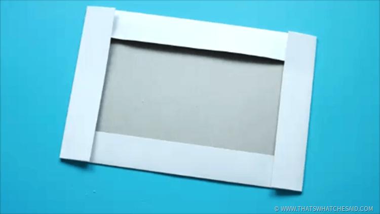 Single SIde of Gift Box