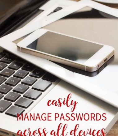 the best way to keep track of your passwords