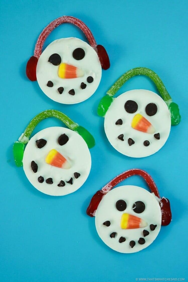 Candy Snowmen