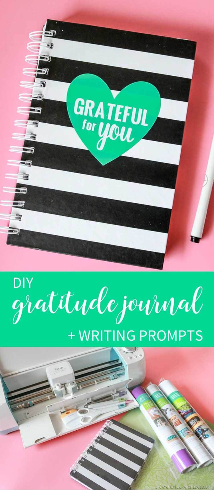 Gratitude Journal Writing Prompts