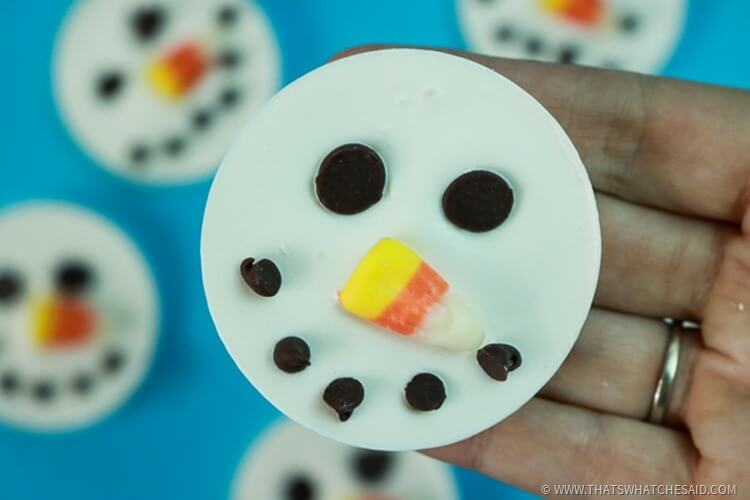 Snowmen Candy Treat