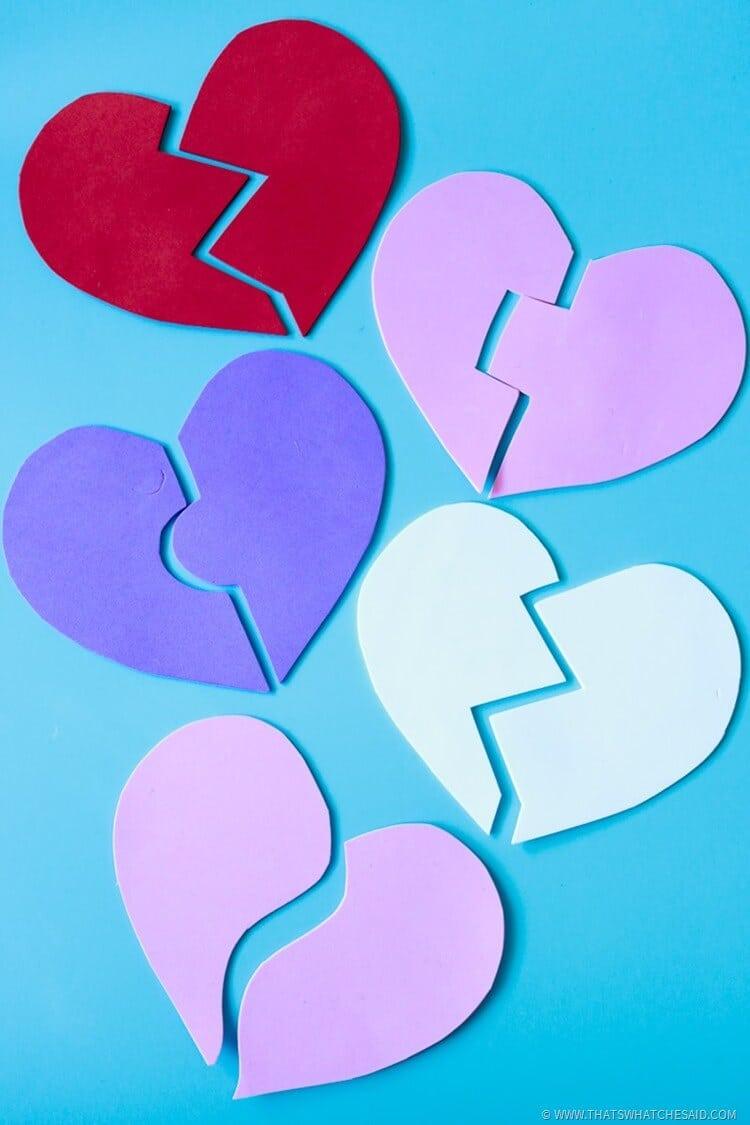 Valentine Games for Preschool Age