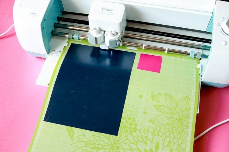Using a Cricut with Heat Transfer Vinyl