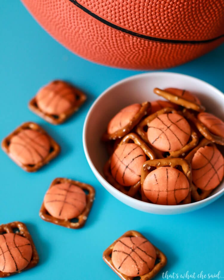 March Madness Pretzel Bites
