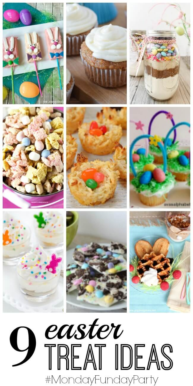 Easter Sweet Treats from Monday Funday Party at thatswhatchesaid.net