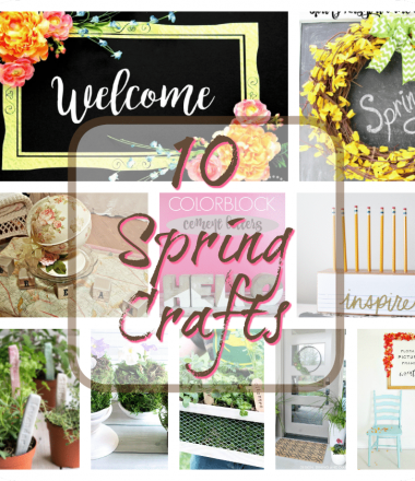 Spring Craft and Decor Ideas