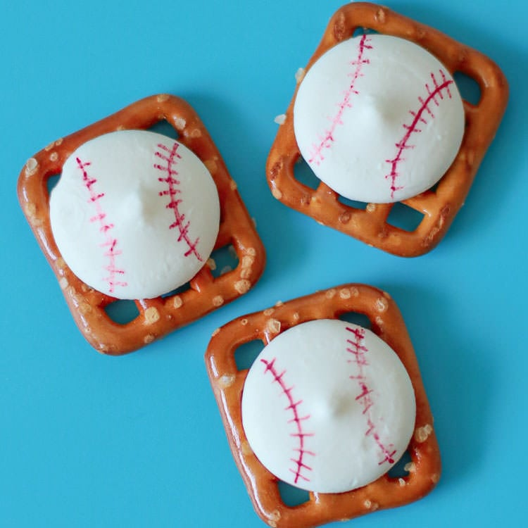 Easy Baseball Themed Treats