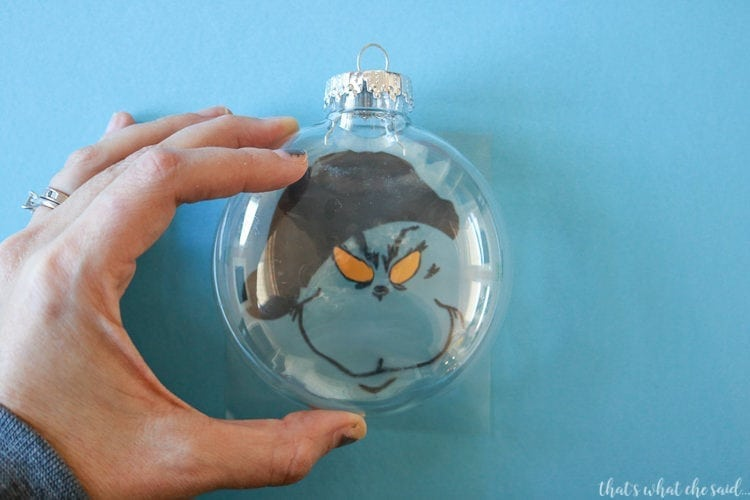 Tips for centering vinyl designs on plastic ornaments