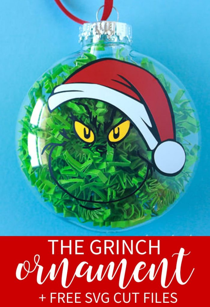 Grinch Ornament Free Svg That S What Che Said