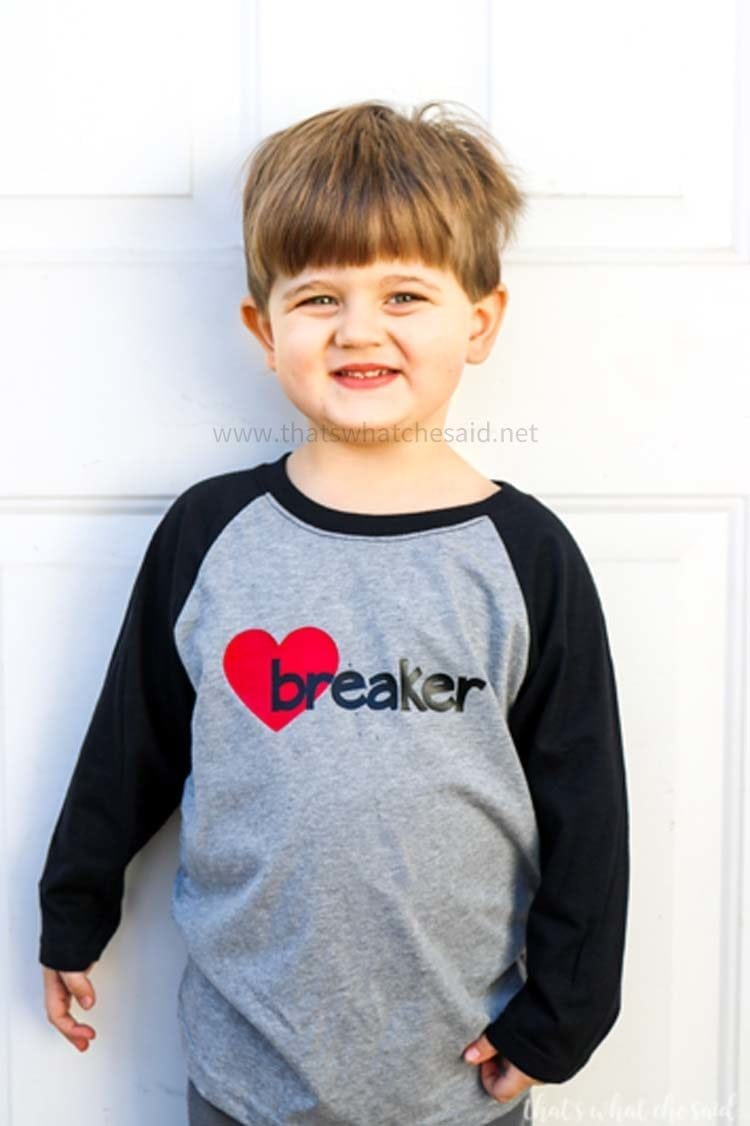 DIY Children's Valentine's Day Shirt