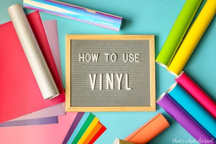 How to Use Vinyl