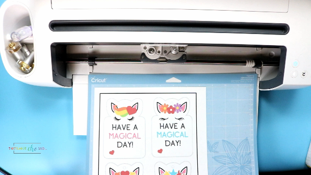 Load the Mat into Cricut
