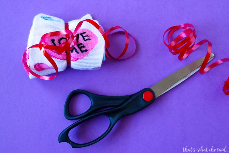 Rock My Socks Off Valentine With Free Printable Tag