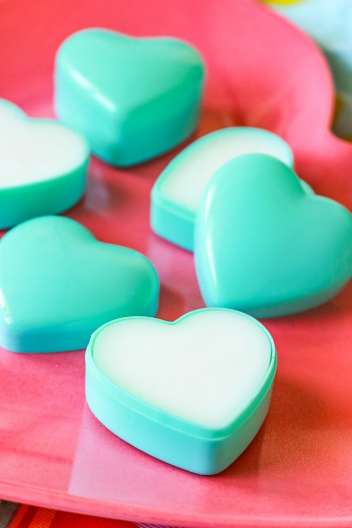 Easy Natural DIY Valentine Lotion Bars