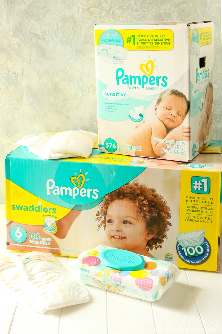 Get $8 off $50 and $10 Gift Card from Pampers and Sam's Club