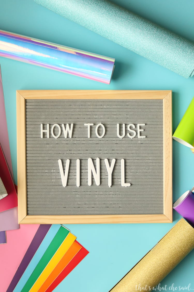 How to Apply Craft Vinyl