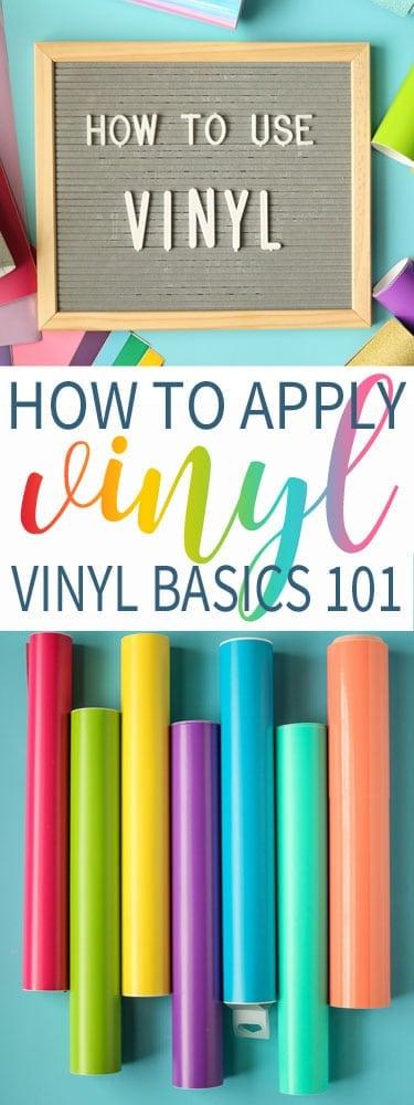 How to Apply Vinyl - Vinyl 101