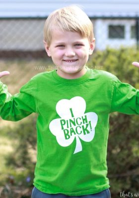 I Pinch Back St. Patrick's Day Shirt SVG Cut File