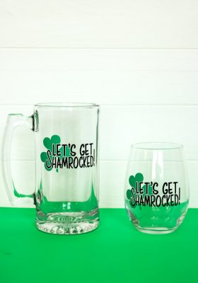 Let's Get Shamrocked SVG PNG DXF STUDIO File
