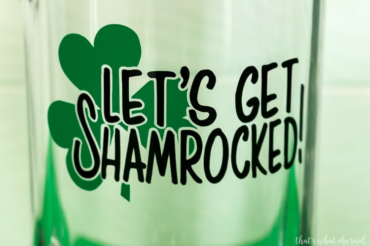 St. Patrick's Day Beer Mug
