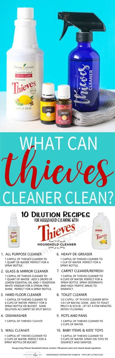 Thieves Cleaner What Can it Clean