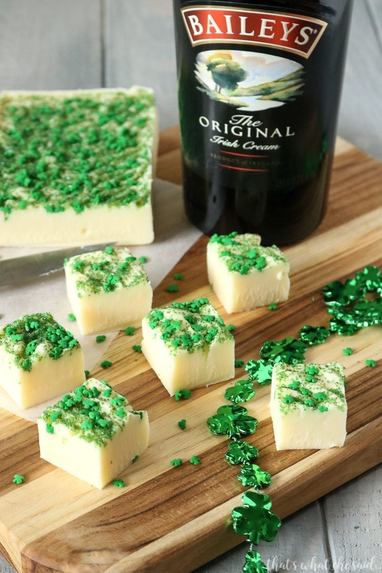 Baileys Irish Cream Fudge