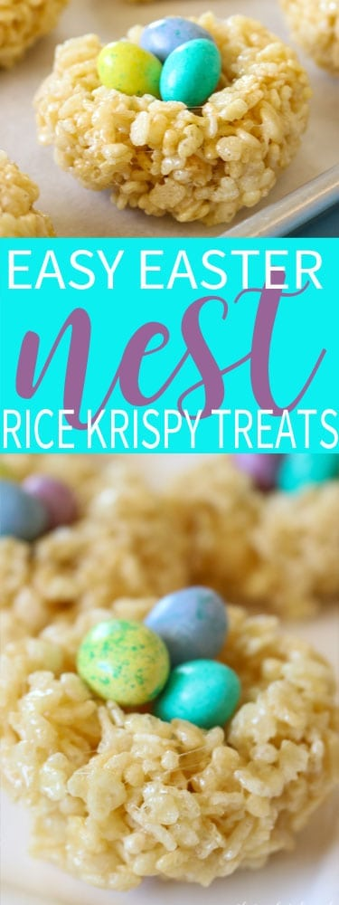Easy Easter Rice Krispie Treats