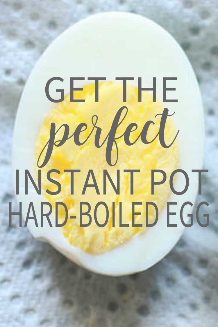 Get the Perfect Instant Pot Hard Boiled Egg
