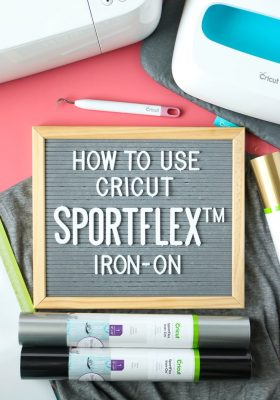 How to Use Cricut SportFlex Iron-on Vinyl