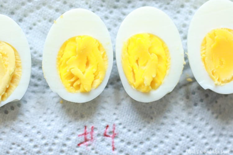 Instant Pot Hard Boiled Eggs 10-0-5 method